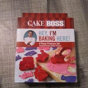 Cake Boss 4 piece cookie cutter set